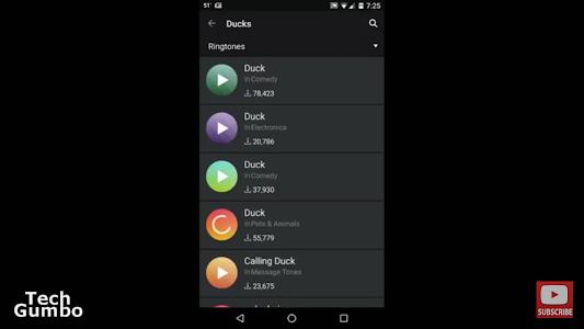 screenshot of Free ZEDGE Ringtones & Wallpapers All Tricks version 2.0
