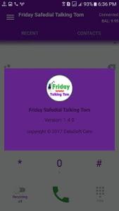 Download Friday Safedial Talking Tom Dialer 1.4.0 APK