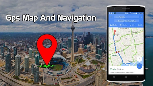 Download GPS Route Finder & Transit: Maps Navigation Live 1.3 APK