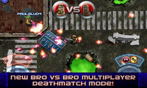 screenshot of GUN BROS MULTIPLAYER version 3.5.0