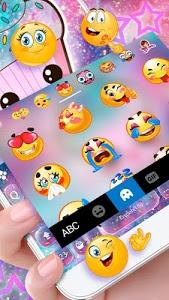 Download Galaxy Hot Pink Cupcake Keyboard Theme 1.0 APK