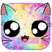 Download Galaxy Kitty Emoji Keyboard Theme 10001006 APK