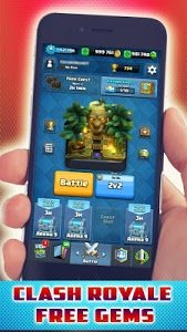 Download Gems For Clash Royale -The Ultimate Cheats - prank 1.0 APK