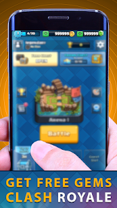 Download Gems Of Chest Clash Royal Free 2.0 APK