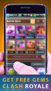 screenshot of Gems Of Chest Clash Royal Free version 2.0