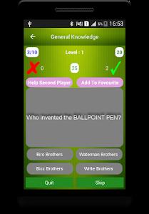 screenshot of General Knowledge version 4.1