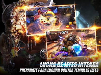 screenshot of Goddess: Primal Chaos - MMORPG de acción 3D version 1.81.21.110600