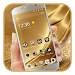 Download Gold Silk Luxury deluxe Theme 1.2.1 APK