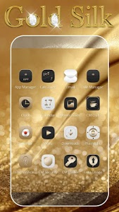 screenshot of Gold Silk Luxury deluxe Theme version 1.2.1