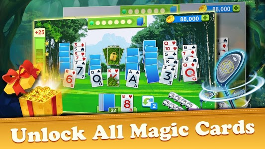 screenshot of Golf Solitaire Tournament version 1.45.3935