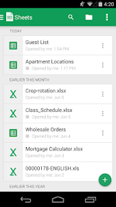Download Google Sheets  APK