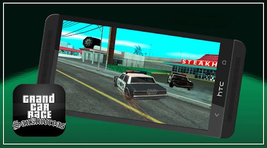screenshot of Grand car Race in San Andreas version 3