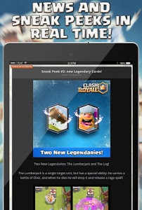 screenshot of Guide for Clash Royale version 1.2.7