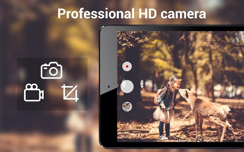 screenshot of HD Camera Pro & Selfie Camera version 1.5.0