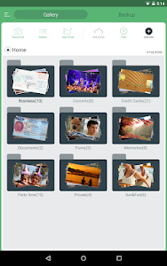 screenshot of Hide Pictures, Hide Photos & Videos, Gallery Vault version 3.3