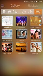 screenshot of Hide Pictures, Hide Photos & Videos, Gallery Vault version 3.0