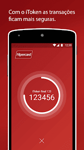 screenshot of Hipercard Controle seu cartão version Varies with device