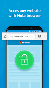screenshot of Hola Free VPN Proxy version ARM7A_1.108.925