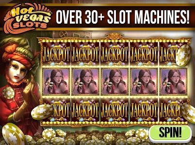 screenshot of Hot Vegas Slot Games Free App version 1.111