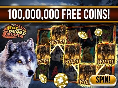 screenshot of Slots: Hot Vegas Slot Machines version 1.117