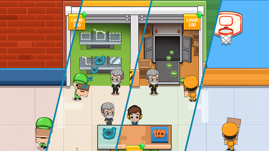 screenshot of Idle Factory Tycoon version 1.48.1
