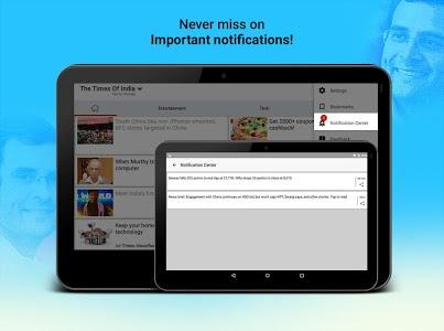 screenshot of India News - Breaking News version 2.0.9.2