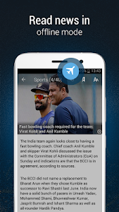 screenshot of India News by NewsPoint (TOI) version 3.0.8.2