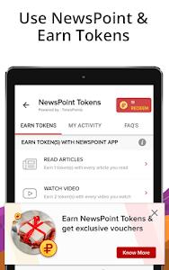 screenshot of India News, Latest News App, Live News Headlines version 4.4.7.5