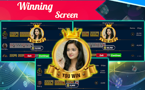 screenshot of Indian Rummy version 1.4