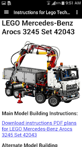 Download Instructions For Lego Technic 1 6 Apk Downloadapk Net