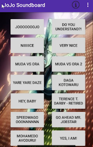 Download JoJo's Bizarre Soundboard 1.4 APK