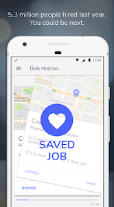 screenshot of Snag - Jobs Hiring Now version Varies with device