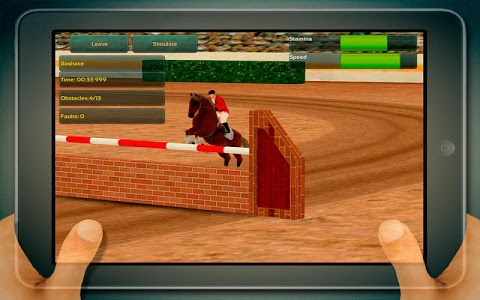 screenshot of Jumping Horses Champions version Varies with device