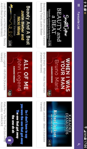 screenshot of Karaoke Online : Sing & Record version 1.11
