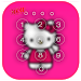 Download Kawaii Kitty Lock Screen theme 3.0 APK