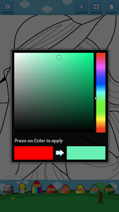 screenshot of Princess Coloring Book version 1.9.2