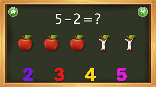 screenshot of Kids Numbers and Math FREE version 2.4.2