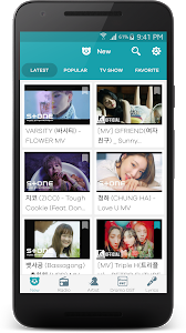screenshot of KPOP version Varies with device