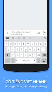 screenshot of Laban Key Go Tieng Viet version 3.4.8-R6