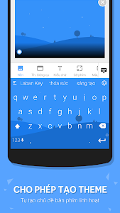 screenshot of Laban Key Go Tieng Viet version LabanKey-3.1.0-r5