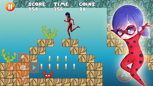 screenshot of Ladybug Vs Cat Noir Adventure version 2.1
