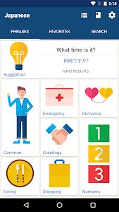 Download Learn Japanese Phrases | Japanese Translator  APK