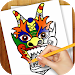 Download Learn to Draw Face Masks 1.01 APK