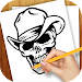 Download Learn to Draw Tattoo Skulls 1.02 APK
