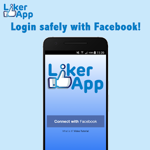 screenshot of Liker App version 23.0