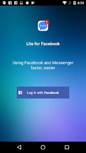 Download Lite for Facebook - Security Lock 1.0.6 APK