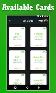 Download Live Gold Membership For xBox&Gift Cards Codes 1.0.0 APK