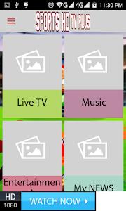 screenshot of Live Sports TV version 1.0.1