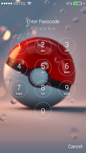 Download Lock screen for Pokeball 1.03 APK