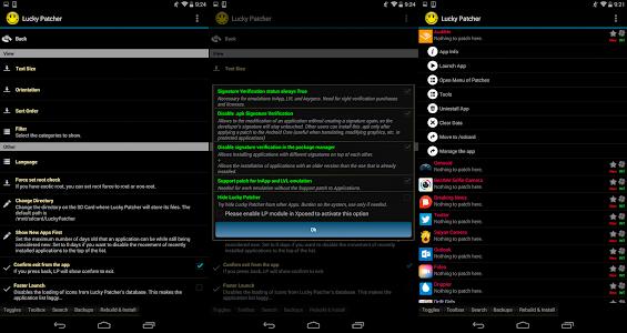 screenshot of Lucky Guide version 1.0